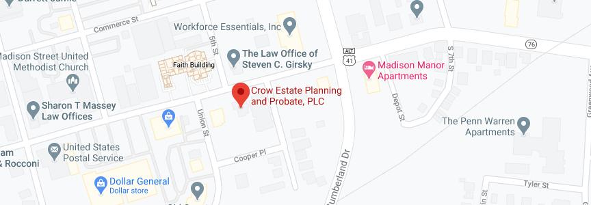 John Crow Law office address
