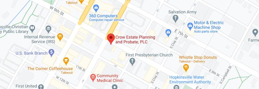John Crow Law office address in Hopkinsville
